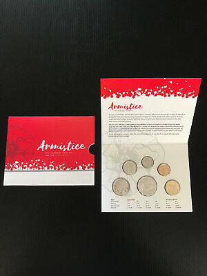 Brand New 2018 Uncirculated Armistice Centenary Australian Coin Collectors Set