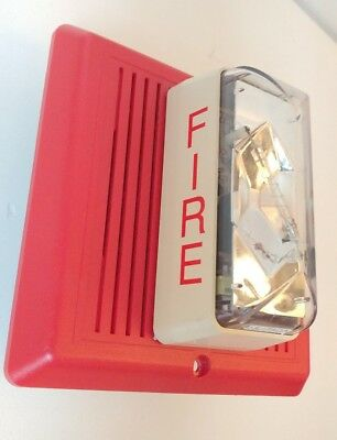 Edwards FIRE Alarm INDOOR Outdoor Temporal Horn STROBE 757-7A-T