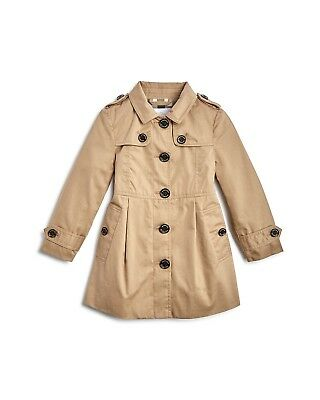 NWT NEW Burberry Sophia baby toddler girls beige trench coat 12m or 18m