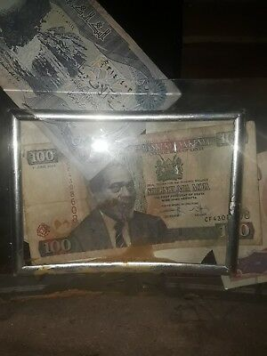 Kenya aUNC 100 Shillings P37a 1996 Banknote World Currency Paper Money