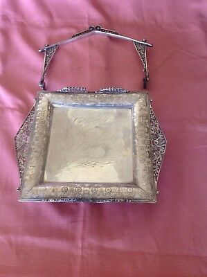 Antique Rogers & Bro. Triple Plate Brides Basket Issues