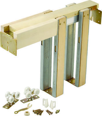 Johnson 1500 Universal Pocket Door Frame, For Use with 125 lb Door
