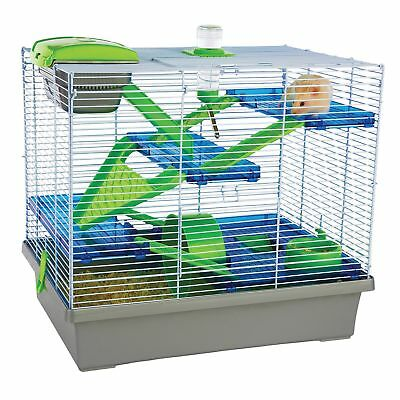 Pico XL Silver  Green - Hamster  Small Animal Home/Cage