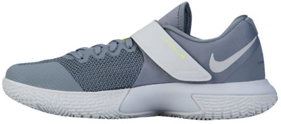 0c4d69e924e Nike Zoom Live Low Basketball Shoes Grey White Breathable New 852421-002  Mens 14