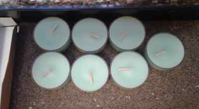 Partylite Tealights - Tropical Waters scent - 7 tealights