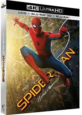 Blu-ray SPIDER-MAN : HOMECOMING - UHD + BD 3D + BD (UV) [Blu-ray]