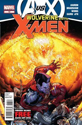 WOLVERINE AND THE X-MEN ISSUE 13 - FIRST 1st PRINT - AvX VERSUS AVENGERS