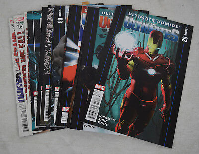 Ultimate Comics Ultimates 13 Lot 3 4 5 6 7 8 9 10 11 12 13 15 16 NM