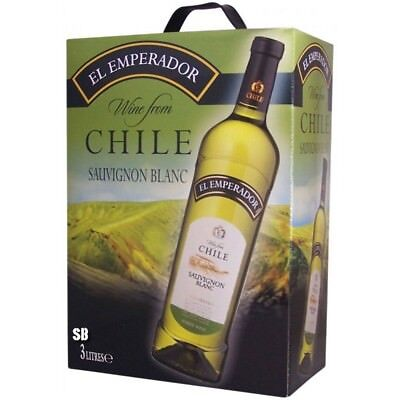 El Emperador Sauvignon Blanc Chile Weißwein Bag in Box 12% vol 300cl BiB