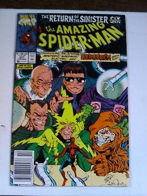 The Amazing Spider-Man #337 (Aug 1990, Marvel) HIGH GRADE NEWSSTAND COPY NM-