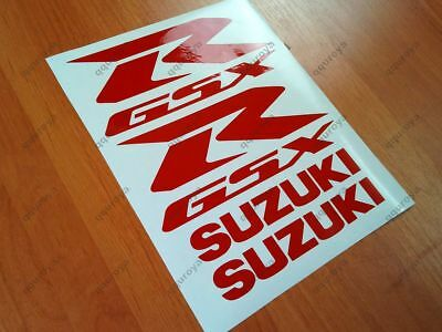 SUZUKI GSXR FAIRING DECALS STICKERS 600 750 1000 1100 TANK BIKE MOTORCYCLE #008r
