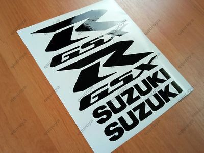 SUZUKI GSXR FAIRING DECALS STICKERS 600 750 1000 1100 TANK BIKE MOTORCYCLE #008b
