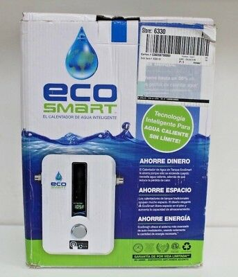 ECO SMART 11 Best Electric Tankless Instant On Demand Hot Water Heater 240V. NEW
