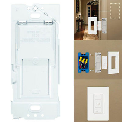 Wallplate Bracket Lamp Pico Remote Control Dimmer Lutron Caseta Wireless Plug-In