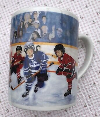 Tim Hortons  collector series # 002 Winning goal  coffee  mug  14 oz