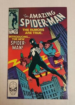The Amazing Spider-Man #252 (May 1984, Marvel), FN-, 1st Print, Classic Cover