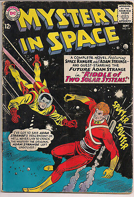 Mystery in Space #94  DC Adam Strange Silver Age GD