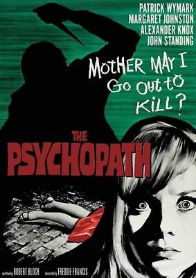 THE PSYCHOPATH (Patrick Wymark)  - DVD - Region 1  -Sealed