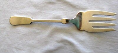 The Bailey Banks & Biddle Co. Fine Silverplate Serving Fork