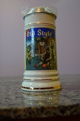 Heilmans OLD STYLE Lager  Limited edition, Lidded Beer Stein 0048 of 1000