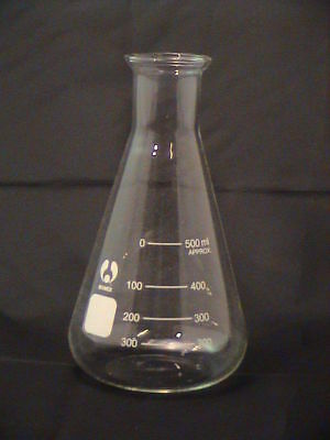 Erlenmeyer 100 250 500 1000 Conical Fioles Erlenmeyer