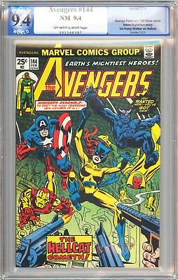 Avengers 144 PGX 9.4 NM OW/W 2/76 1st Patsy Walker as Hellcat!