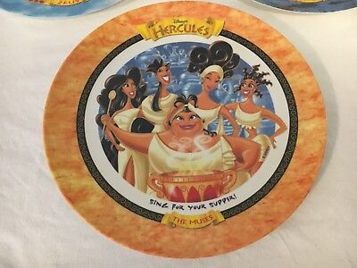 "McDonalds Collectible 1997 Hercules Disney Plate ""The Muses"" New"