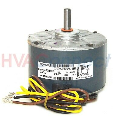 carrier ge 1/6 hp 208-230v air conditioner condenser fan motor  5kcp39bgr201bs