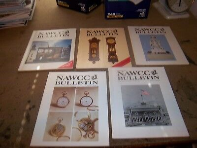40 NAWCC BULLETINS Various years Some complete,some incomplete,some singles