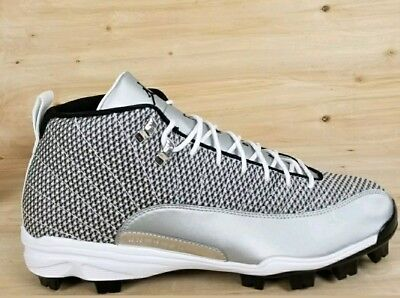 wholesale dealer 2b479 386b0 Nike Jordan Xii 12 Retro Mcs Baseball Cleats  854566 100  Men s Sz