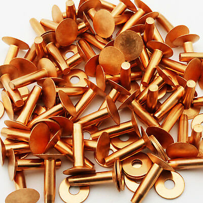 C.S. Osborne Copper Rivets #1700 Size 8, 1 Lb box, Approx. 100 Count