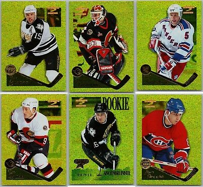 1995-96 Pinnacle Summit Artist's Proofs - Finish Your Set - Pick Your Singles Bv