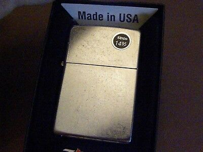 Zippo #207~REGULAR STREET CHROME- New Beauty! NOS! MIB!