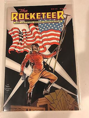 Rocketeer the Official Movie Adaptation Peter David, NM Dave Stevens cover comic