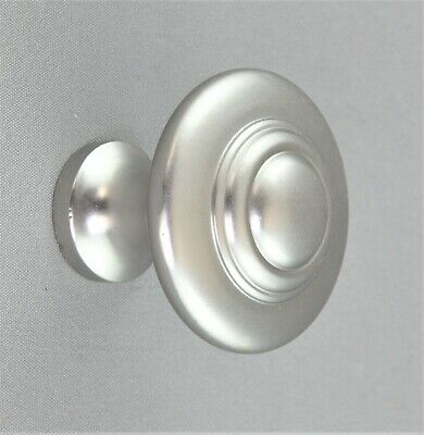 CABINET KNOB MEDIUM-32mm domed style-Solid Brass-10 finishes-door-drawer-kitchen