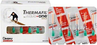 Guttapercha Dentsply Thermafil For Waveone Gold - Medium (30 Obturadores).