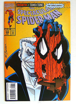 The SPECTACULAR SPIDER-MAN - 204,205,206 DEATH by TOMBSTONE Part 1,2,3 complete