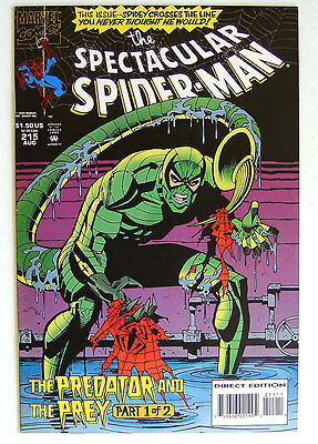 The SPECTACULAR SPIDER-MAN - 215,216 - PREDATOR AND PREY Part 1+2 complete