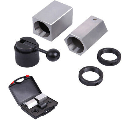 5C-CB Collet Block Chuck Set - Square, Hex, Rings & Collet Closer Holder w/Box