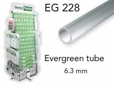 Evergreen EG228 - (x3) tube styrène ø 6.3 mm