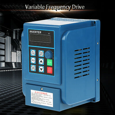 220V/380V Variable Frequency Drive VFD Speed Controller Single/3-Phase AC Motor