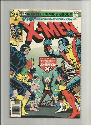 The X-Men #100 (Aug 1976, Marvel)- Phoenix Origin! Old X-Men vs New Team!!