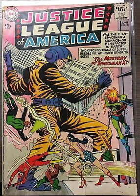 Justice League of America #20 (Jun 1963, DC) silver age comic book