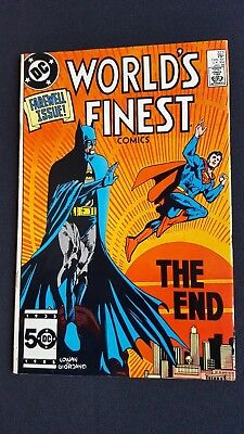 Worlds Finest Comics 323 Farewell Issue The