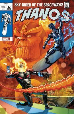 NEW Thanos 17 Marvel JG Jones Silver Surfer 4 Homage Variant Cosmic Ghost Rider