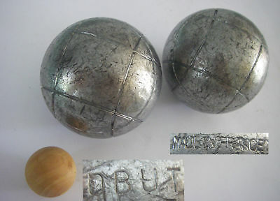2 Boule Kugeln OBUT made in France