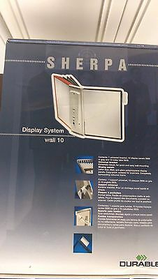 Durable Shepra Display System Wall 10 Panel 5541 Gray