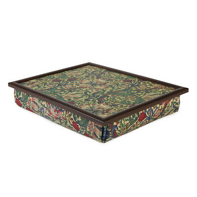 Bean Bag Cushioned Lap Tray in William Morris Golden Lily