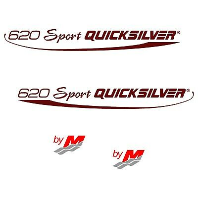 Stickers QUICKSILVER 620 SPORT ref 15 by MERCURY coque bateau autocollant