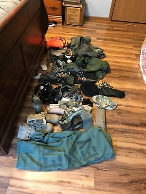 small Army surplus lot different types of items desert boots 7.5